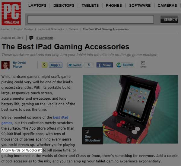 PCMAG says Woolcraft!